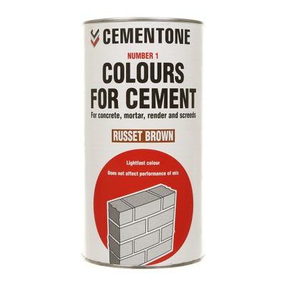 Bostik Cementone Cement Colourant Russet Brown 1kg