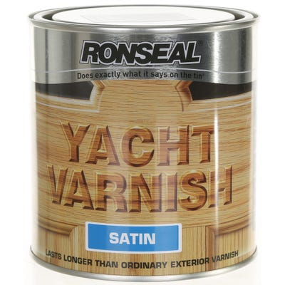 Ronseal Yacht Varnish Clear Satin