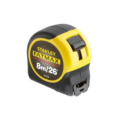 Stanley Fat Max 8m 26ft Tape
