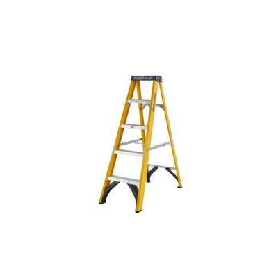 Heavy Duty Fibreglass 4 Tread Trade Step Ladder