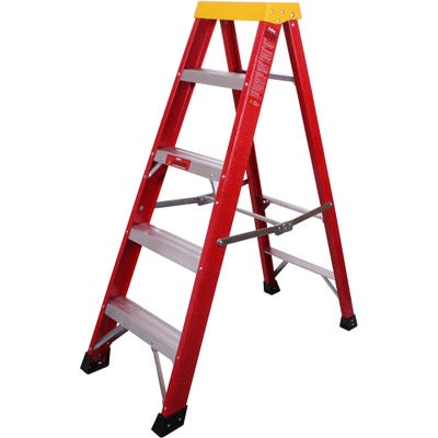ProDec Fibreglass Step Ladder 1.3M