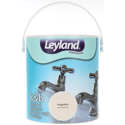 Leyland Kitchen & Bathroom Paint Magnolia 2.5L