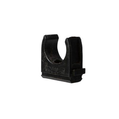 Conduit Clips Black 20mm