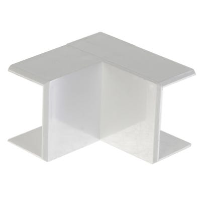 Mini Trunking Internal Angle White 16mm x 25mm