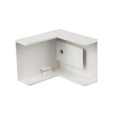 Mini Trunking External Angle White 16mm x 25mm
