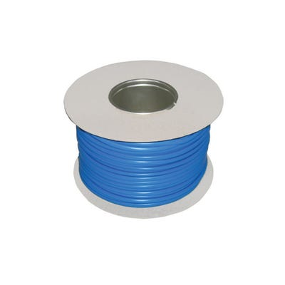 Blue Cable Sleeving 4mm 100m Drum