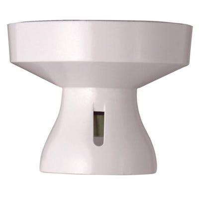 MK Batten Lamp Holder White 1174WHI