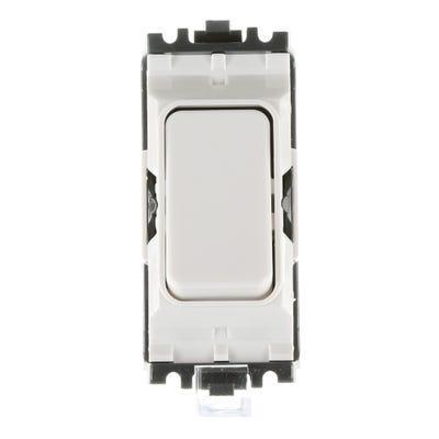 MK 20A Grid Switch Module 2 Way K4892WHI