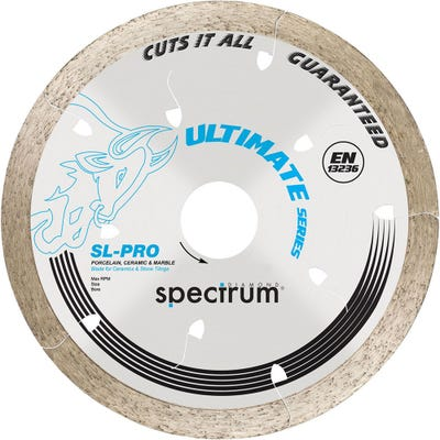 Spectrum 200mm SL-Pro Ultimate Tile Cutting Blade All Tiles Guaranteed