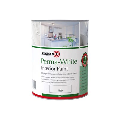 Zinsser Perma-White Interior Mould And Mildew Proof Paint Matt White