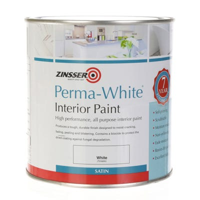 Zinsser Perma-White Interior Mould and Mildew Proof Paint Satin White