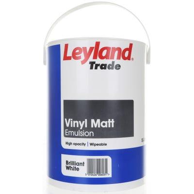 Leyland Trade Vinyl Matt Brilliant White