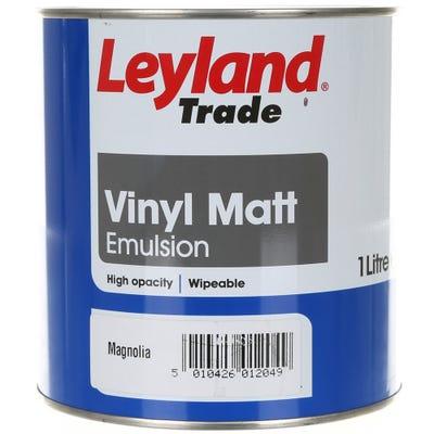 Leyland Trade Vinyl Matt Magnolia
