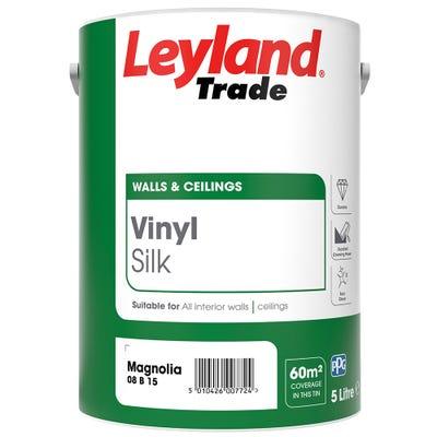 Leyland Trade Vinyl Silk Magnolia
