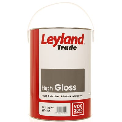 Leyland Trade High Gloss Brilliant White