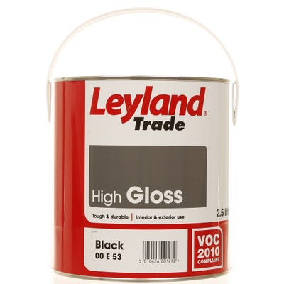 Leyland Trade High Gloss Black 2.5L