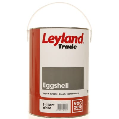 Leyland Trade Eggshell Brilliant White
