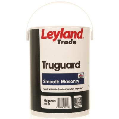 Leyland Trade Truguard Smooth Masonry Magnolia