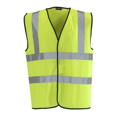 Blackrock Yellow Hi-Vis Waistcoat Large
