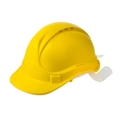 Blackrock Safety Helmet Yellow With 6 Point Harness