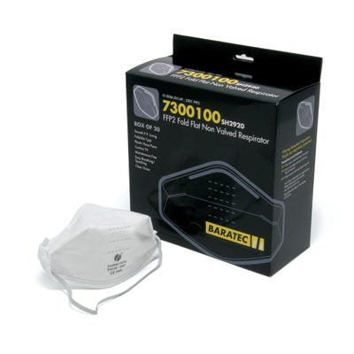 Blackrock Dust Mask Non-Valved FFP2 Pack of 20