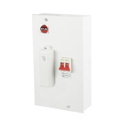 Wylex Fused Main Switch 100A Unit 110M (3rd Amend Compliant)