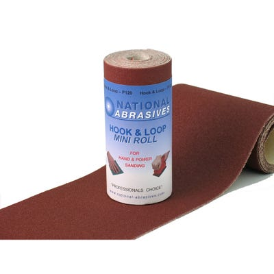 Abrasive Hook & Loop 2.5m Roll