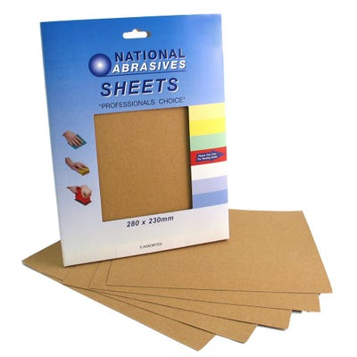 Sandpaper Sheets Pack of 5