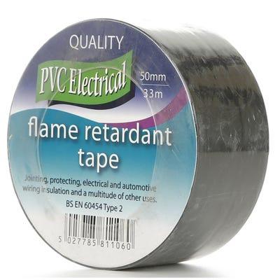 PVC Tape Black 50mm x 33m