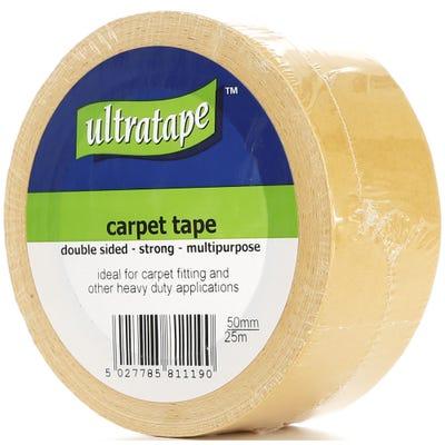 Ultratape Heavy Duty Double Sided Tape 50mm x 25m