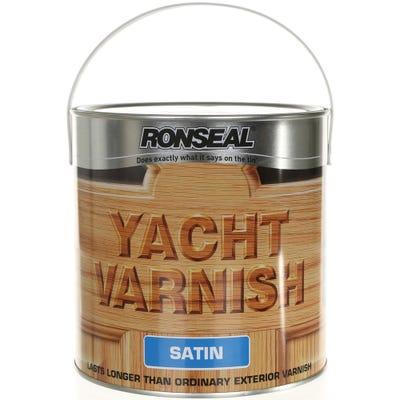 Ronseal Yacht Varnish Clear Satin 2.5L