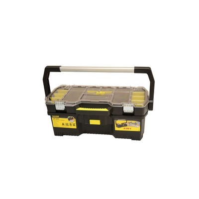 Stanley 24'' Toolbox With Tote Tray Organiser