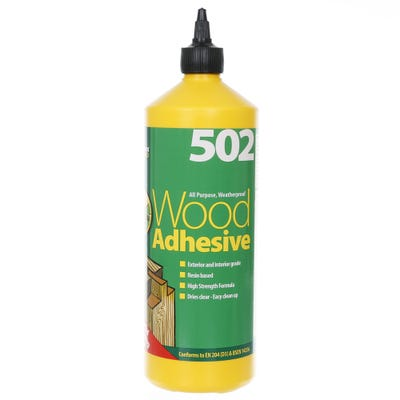 Lumberjack 502 All Purpose Weatherproof Wood Adhesive