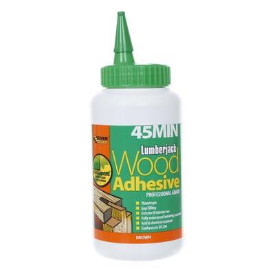 Lumberjack 45 Minute Polyurethane Wood Adhesive Liquid 750g