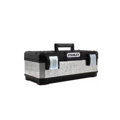 Stanley 20'' Galvanised Metal Toolbox 1-95-618