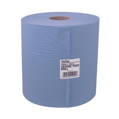 ProDec Centre Feed Blue Roll 150m x 19cm