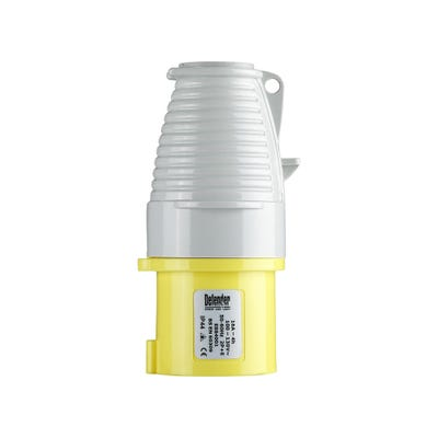 Defender 16A 110V Yellow Plug E884002