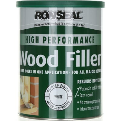 Ronseal High Performance Wood Filler White