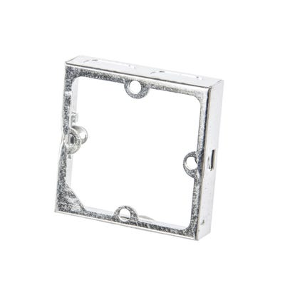 1 Gang 35mm Metal Extension Box
