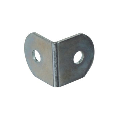 Mini Worktop Brackets 19mm Bright Zinc Pack of 50