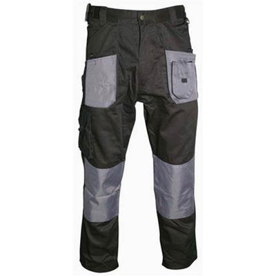 Blackrock Workman Trousers Black/Grey 34 Regular