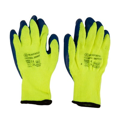 Blackrock Thermal Latex Gripper Gloves Size 10/XL