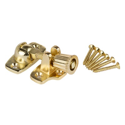 Sash Fastener 45mm Brass Plated