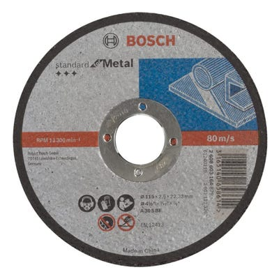 Bosch LPP Metal Cutting Disc 115 x 2.5 x 22.23mm S