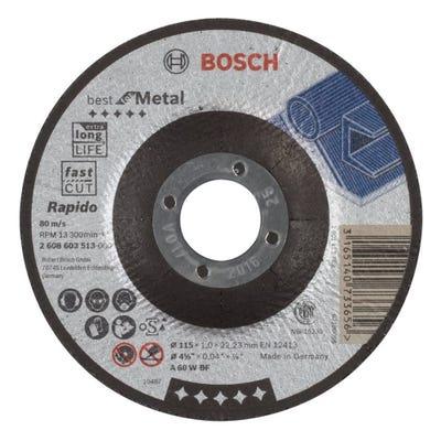 Bosch HPP Metal Cutting Disc 115 x 1.0 x 22.23mm D