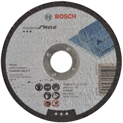 Bosch LPP Metal Cutting Disc 125 x 2.5 x 22.23mm S