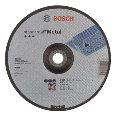 Bosch LPP Metal Cutting Disc 230 x 3.0 x 22.23mm D
