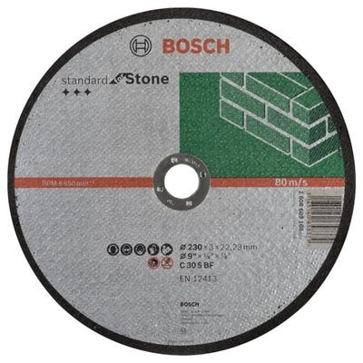 Bosch LPP Stone Cutting Disc 230 x 3.0 x 22.23mm S