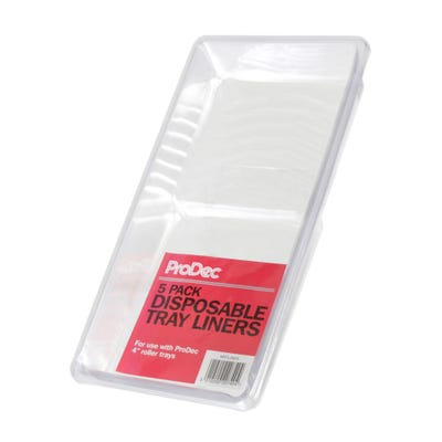 ProDec 4'' Disposable Roller Tray Liner Pack of 5