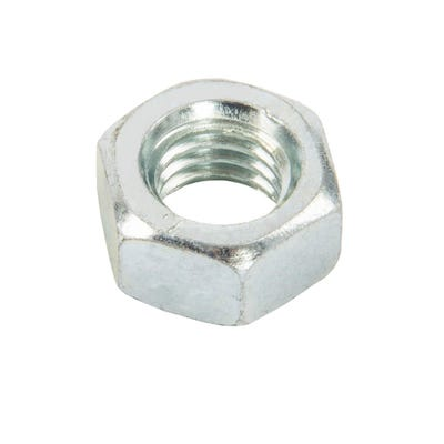 Speed Pro M6 BZP Hex Full Nuts Pack of 50